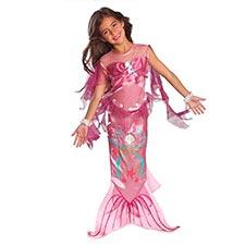 disfraz de sirena niña
