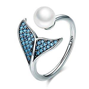 anillo cola de sirena