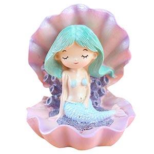figura de sirena para niñas