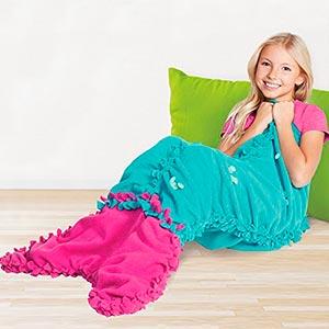 pijama cola de sirena