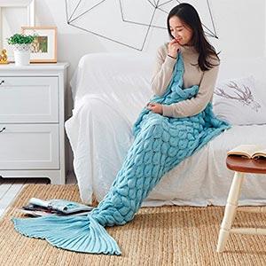 pijama de sirena suave