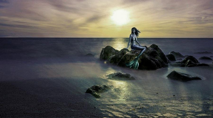 La sirena cantante
