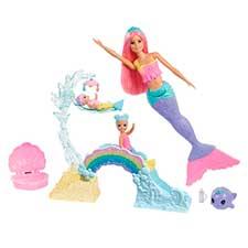 barbie sirena dreamtopia con accesorios